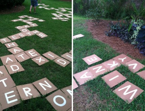 DIY Fourth of July Yard Games